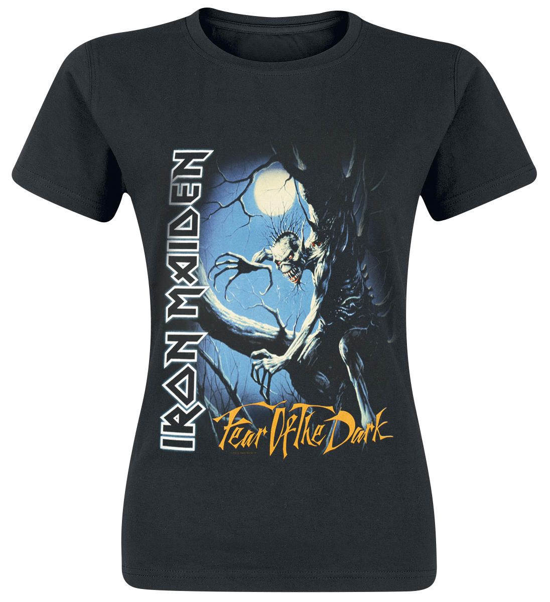 Iron Maiden Fear Of The Dark Koszulka damska czarny