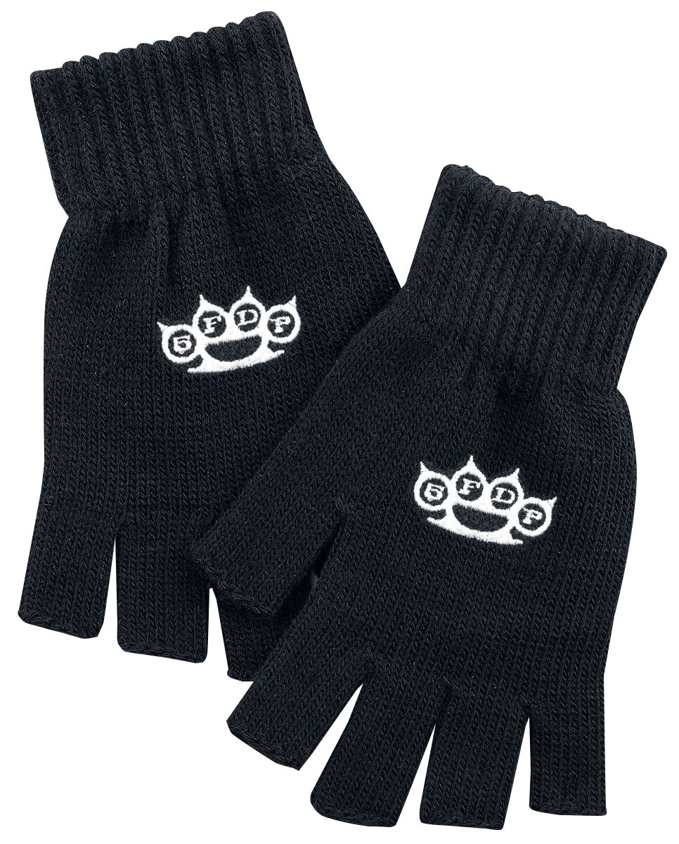 Image of   Five Finger Death Punch 5FDP Fingerløse handsker sort