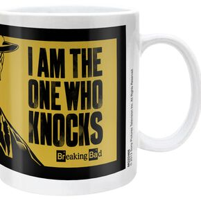 Breaking Bad I Am The One Who Knocks Mug blanc