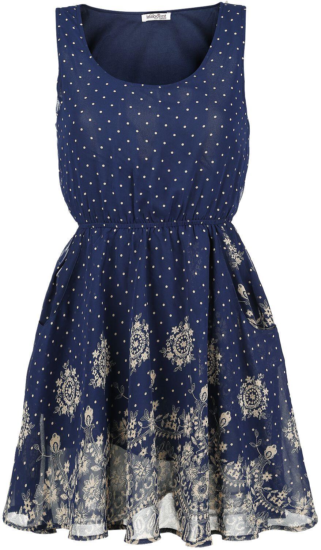 Kleider für Frauen - Innocent Cutie Kleid blau  - Onlineshop EMP