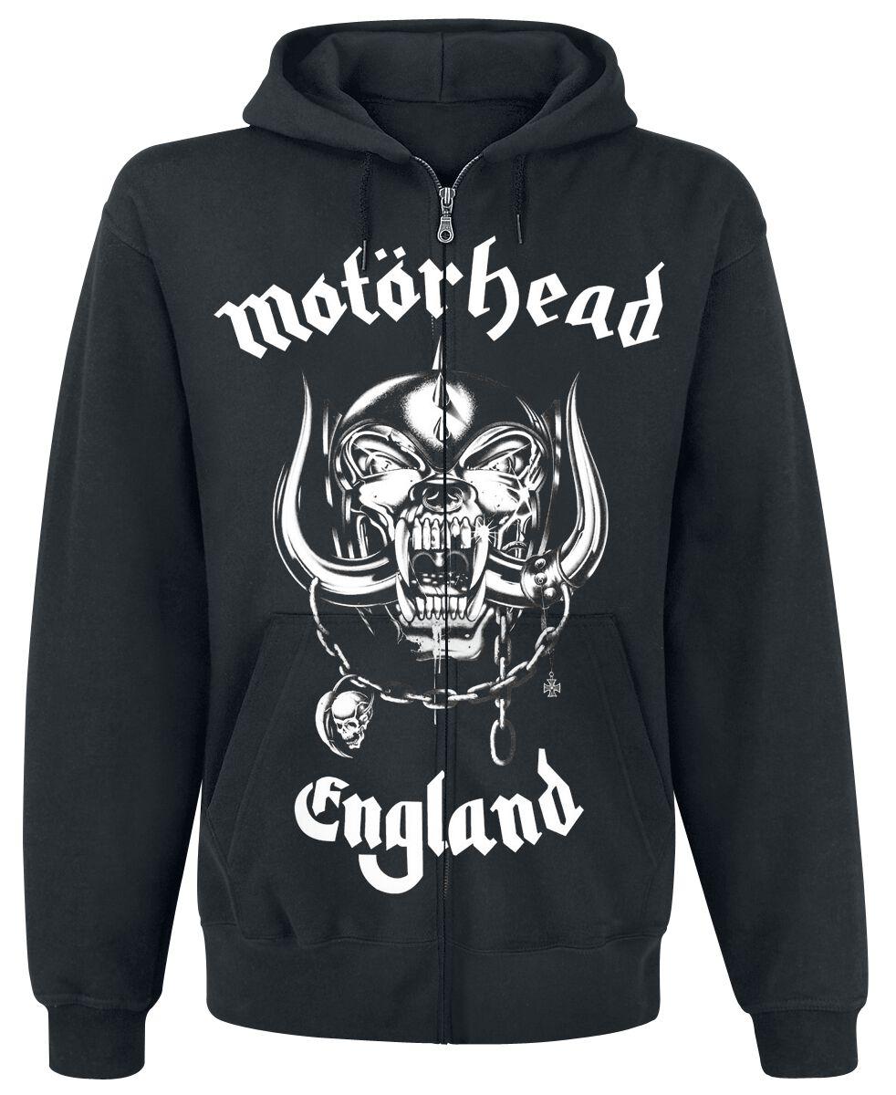 Image of   Motörhead England Hættejakke sort