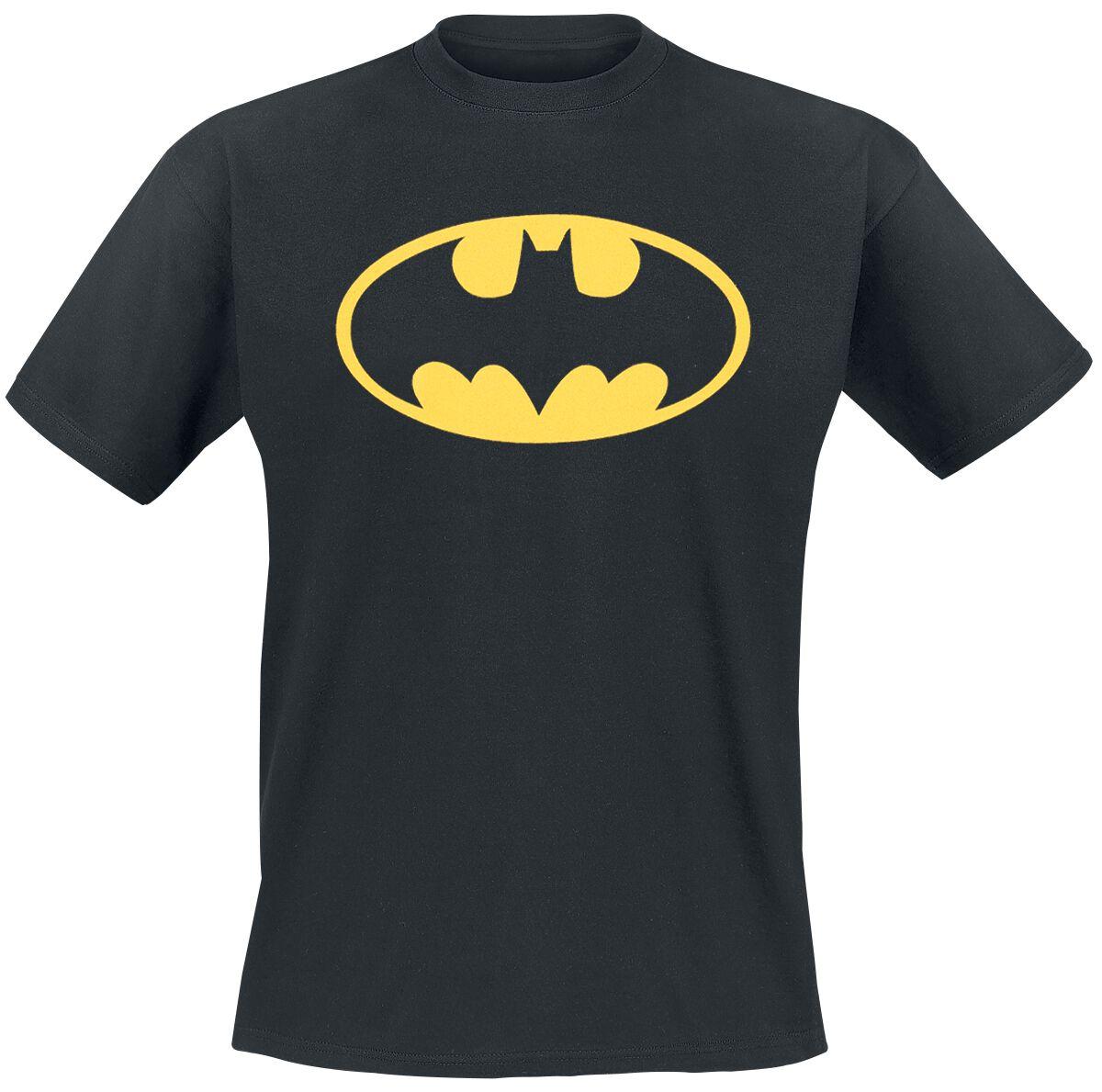 Image of   Batman Logo T-Shirt sort