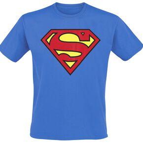 Superman Logo T-shirt bleu