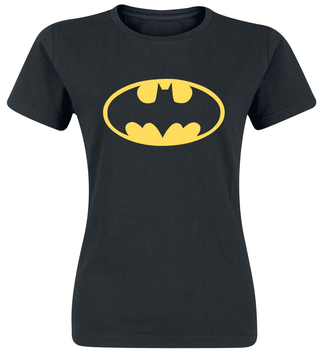 Image of   Batman Logo Girlie trøje sort