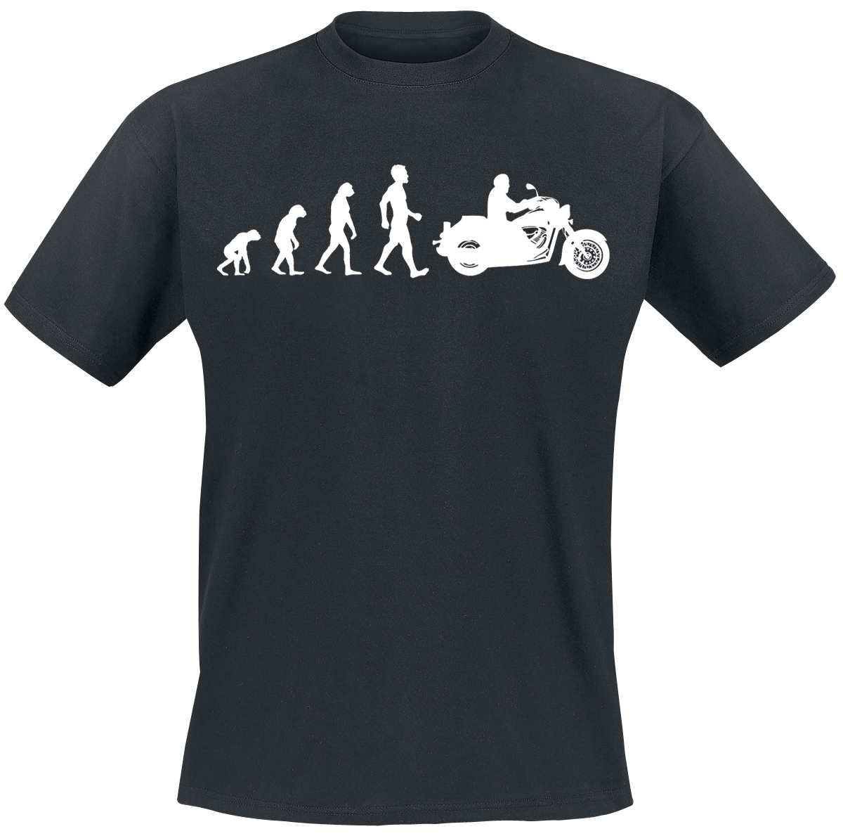 Bikers, The Pride Of Creation - - T-Shirt - black