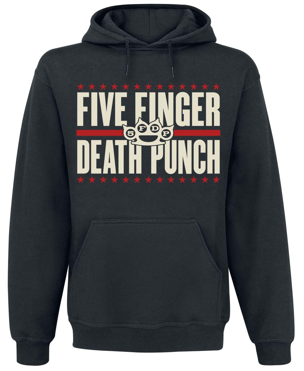 Image of   Five Finger Death Punch Punchagram Hættetrøje sort