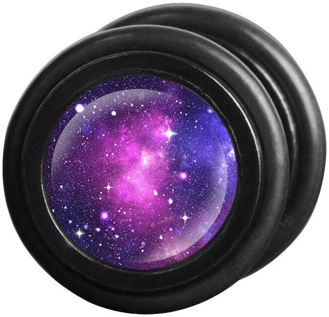 Image of   Wildcat Galaxy Fake plug sæt lilla