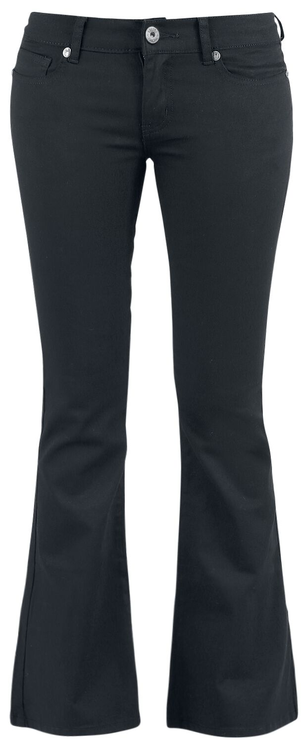 Image of   Black Premium by EMP Corded Extra Boot (Boot-Cut) Girlie bukser sort