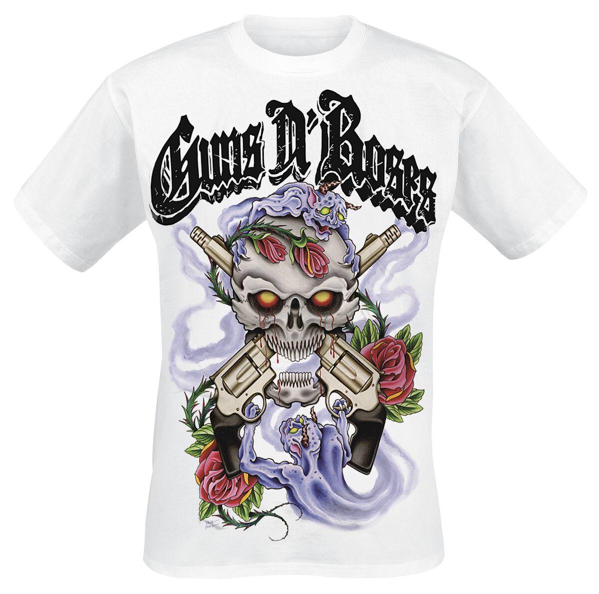 Image of   Guns N' Roses Demons T-Shirt hvid
