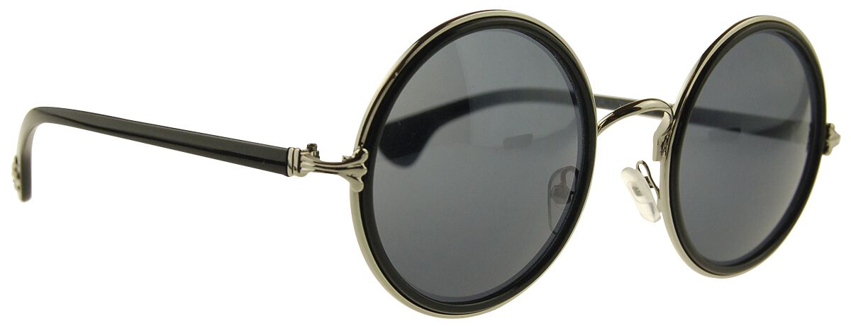 Marki - Okulary - Okulary przeciwsłoneczne Warehouse 365 Black Circles Okulary przeciwsłoneczne czarny - 278537