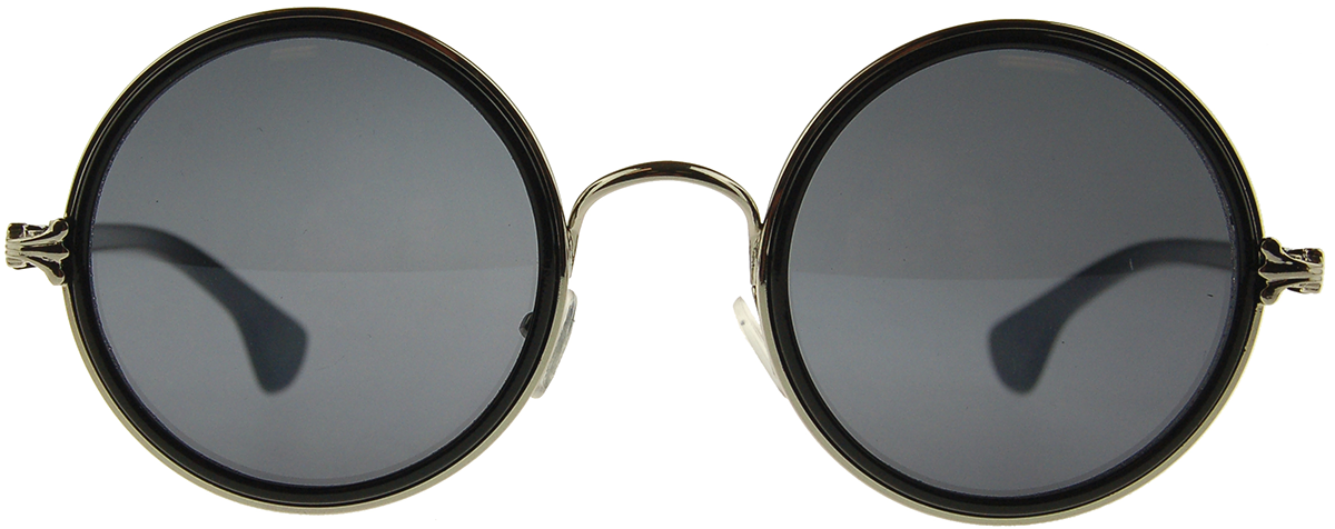 Warehouse 365 Black Circles Solbriller sort