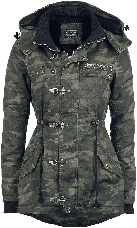 Image of   Rock Rebel by EMP Carabiner Jacket Girlie jakke camouflage
