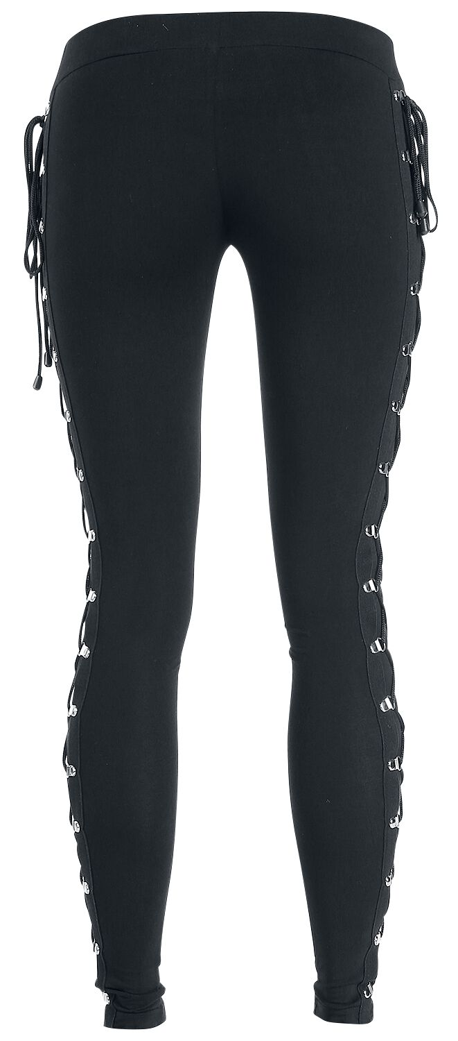 Image of   Gothicana by EMP Gothic Lady Lace Leggings sort