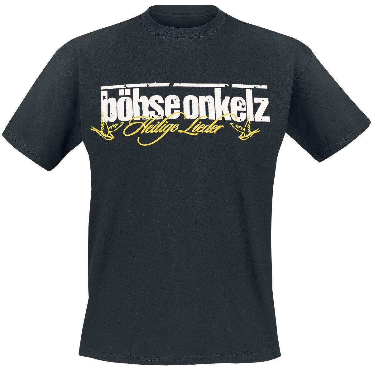 Image of   Böhse Onkelz Gehasst, verdammt, vergöttert 2 T-Shirt sort
