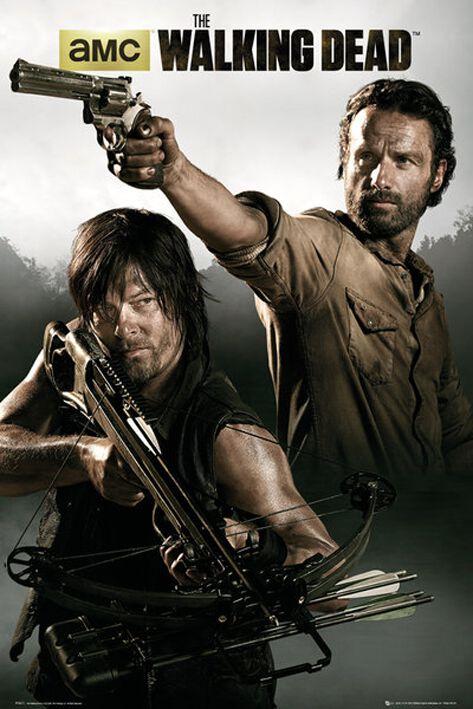 Image of   The Walking Dead Banner Plakat Standard