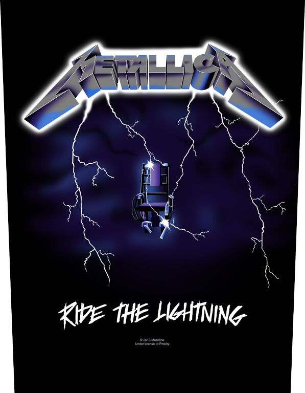 Metallica Ride The Lighting - None - schwarz