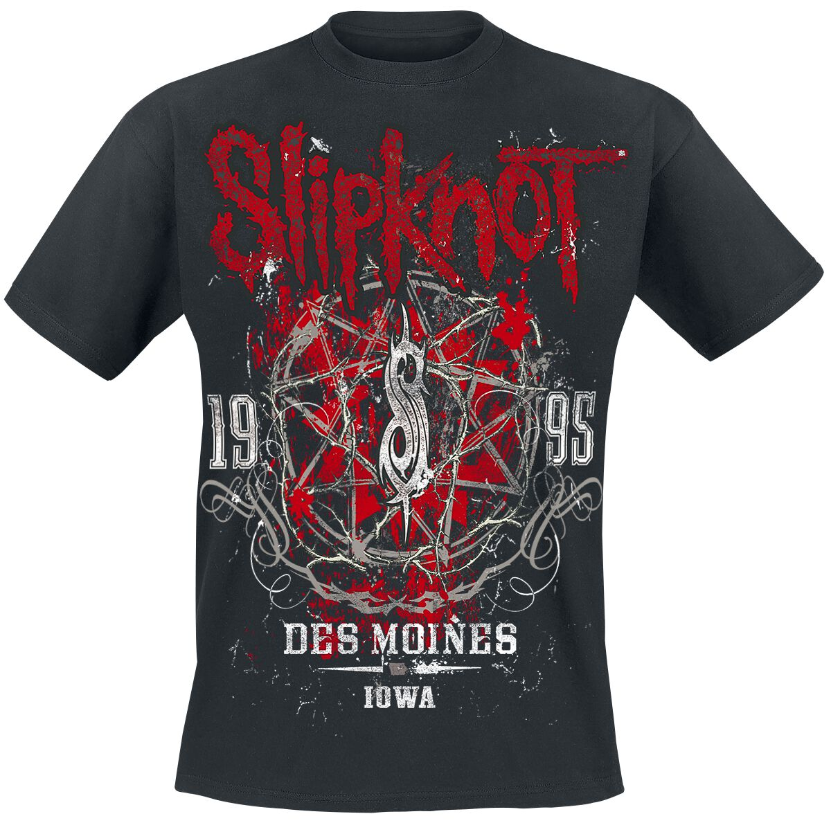 Image of   Slipknot Iowa Star T-Shirt sort