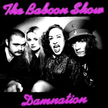 The Baboon Show Damnation CD Standard