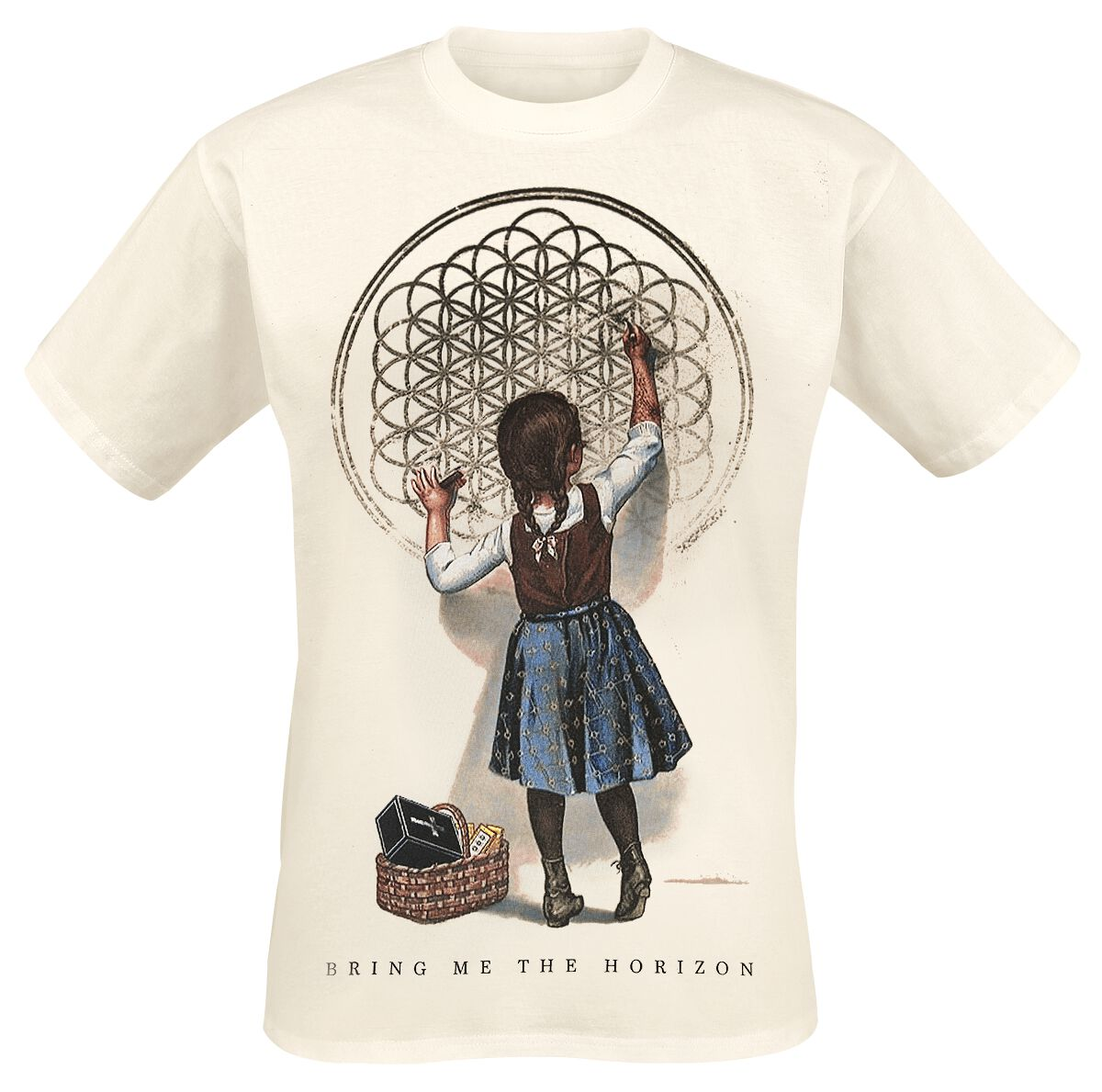 Image of   Bring Me The Horizon Sempiternal Girl T-Shirt sand