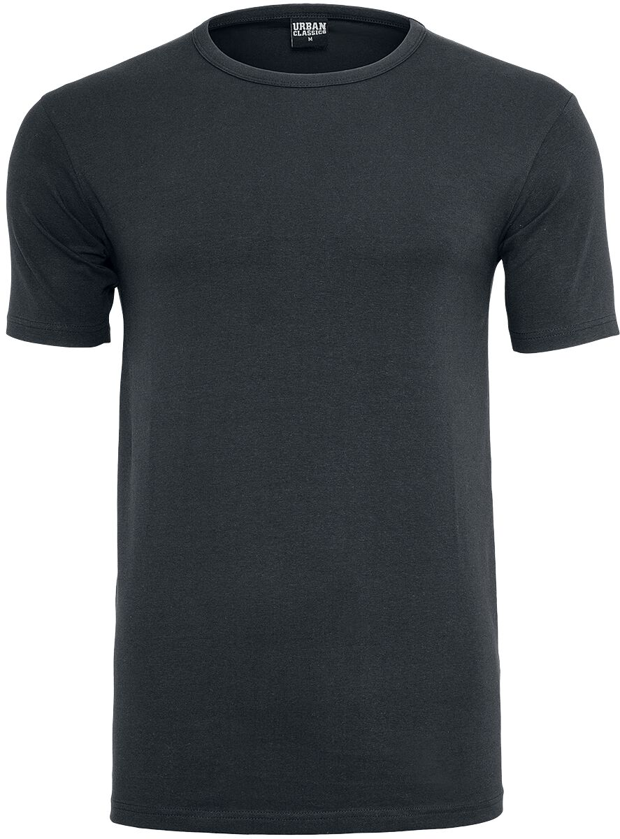 Image of   Urban Classics Fitted Stretch Tee T-Shirt sort