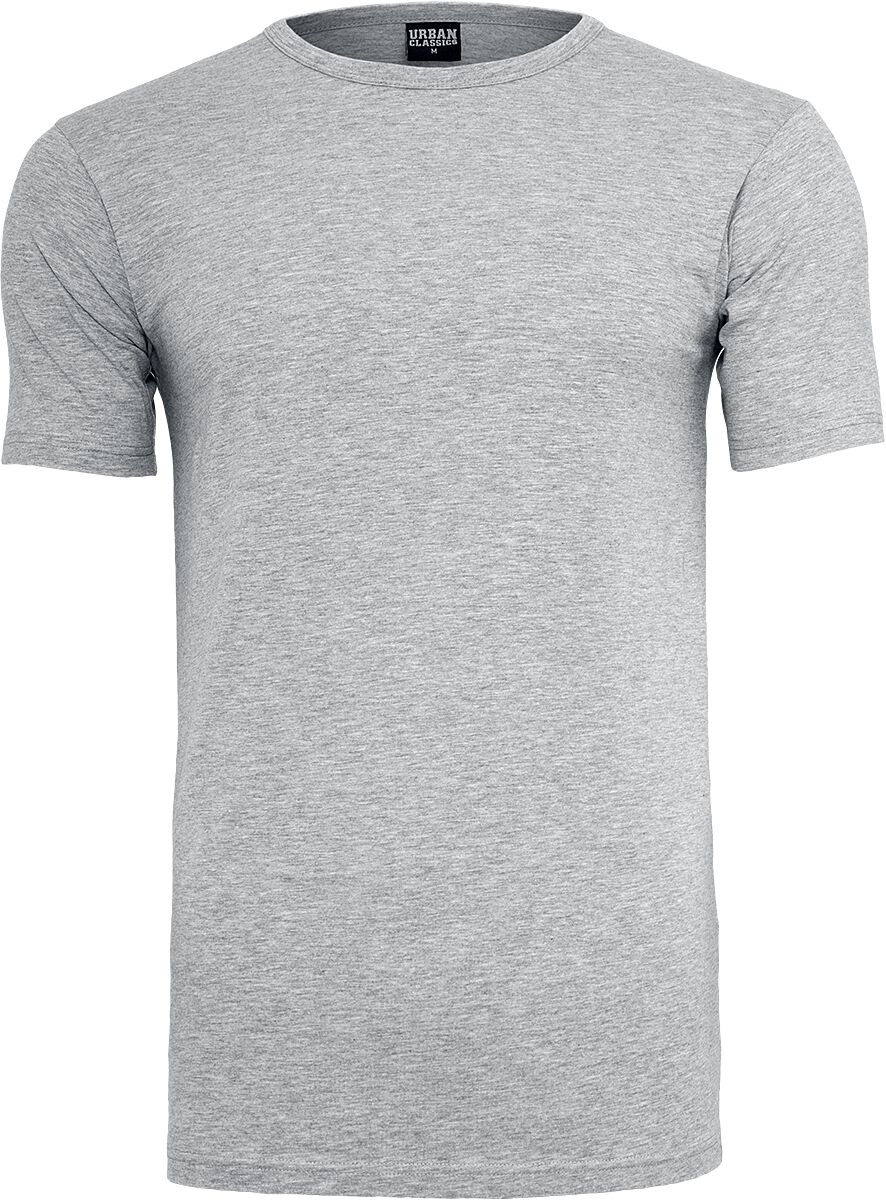 Image of   Urban Classics Fitted Stretch Tee T-Shirt grålig