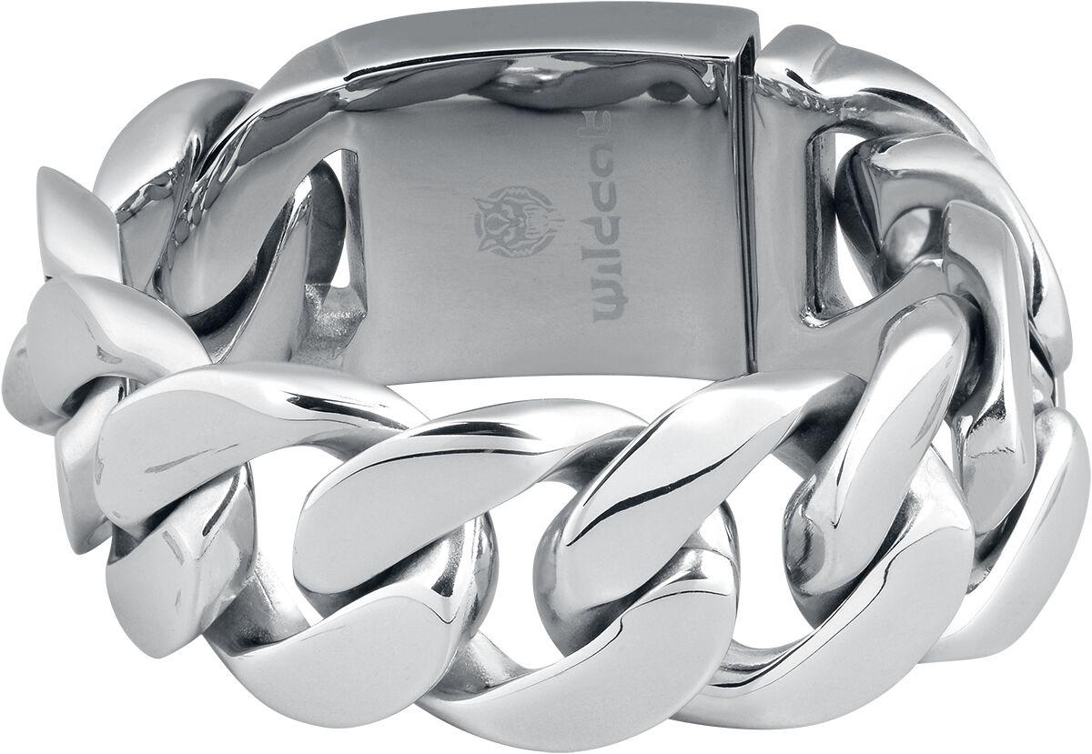 Image of   Wildcat Braided Bracelet Armbånd sølvfarvet