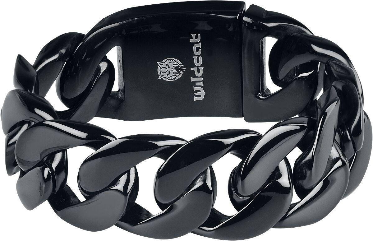 Image of   Wildcat Black Braided Bracelet Armbånd sort