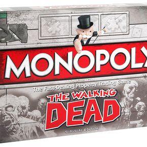 The Walking Dead Monopoly Jeu de Société Standard