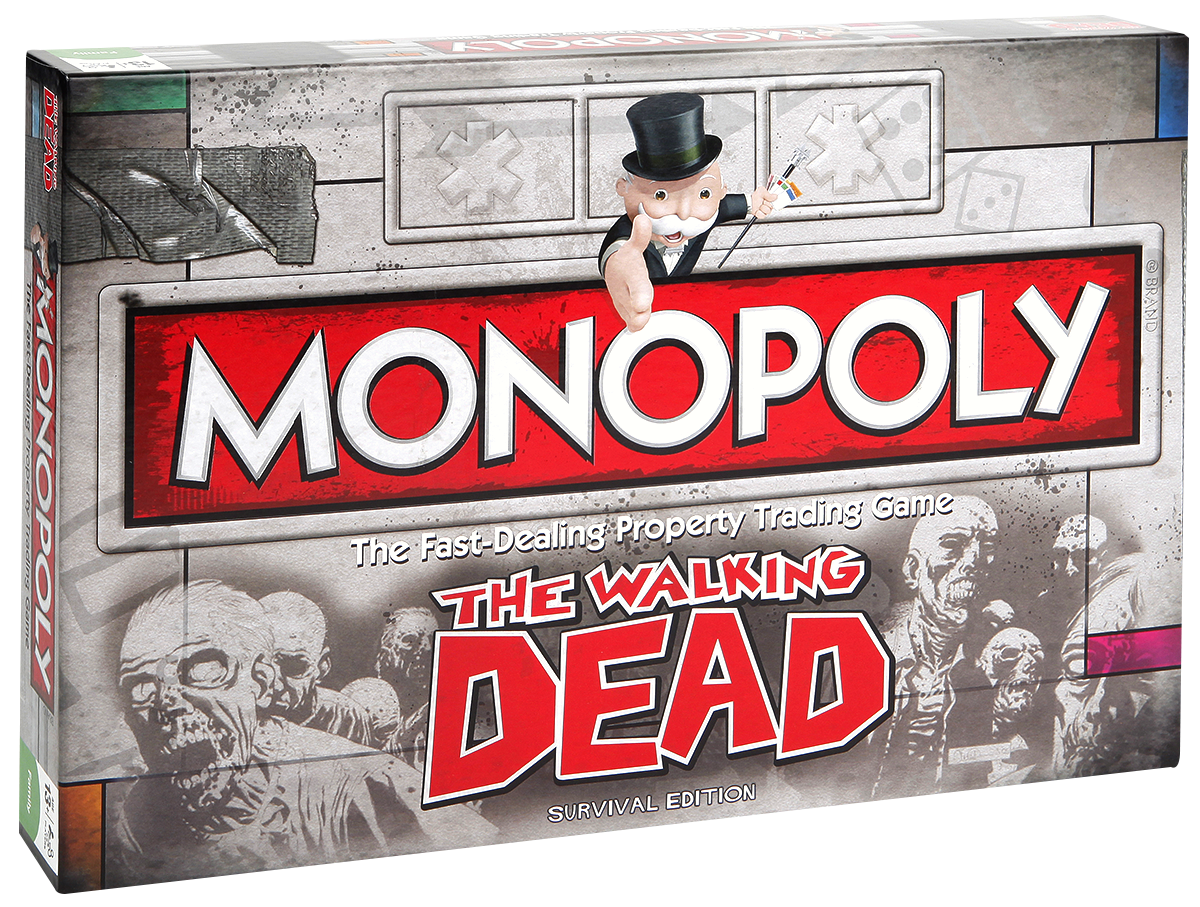 The Walking Dead - Monopoly - Board Game - Standard