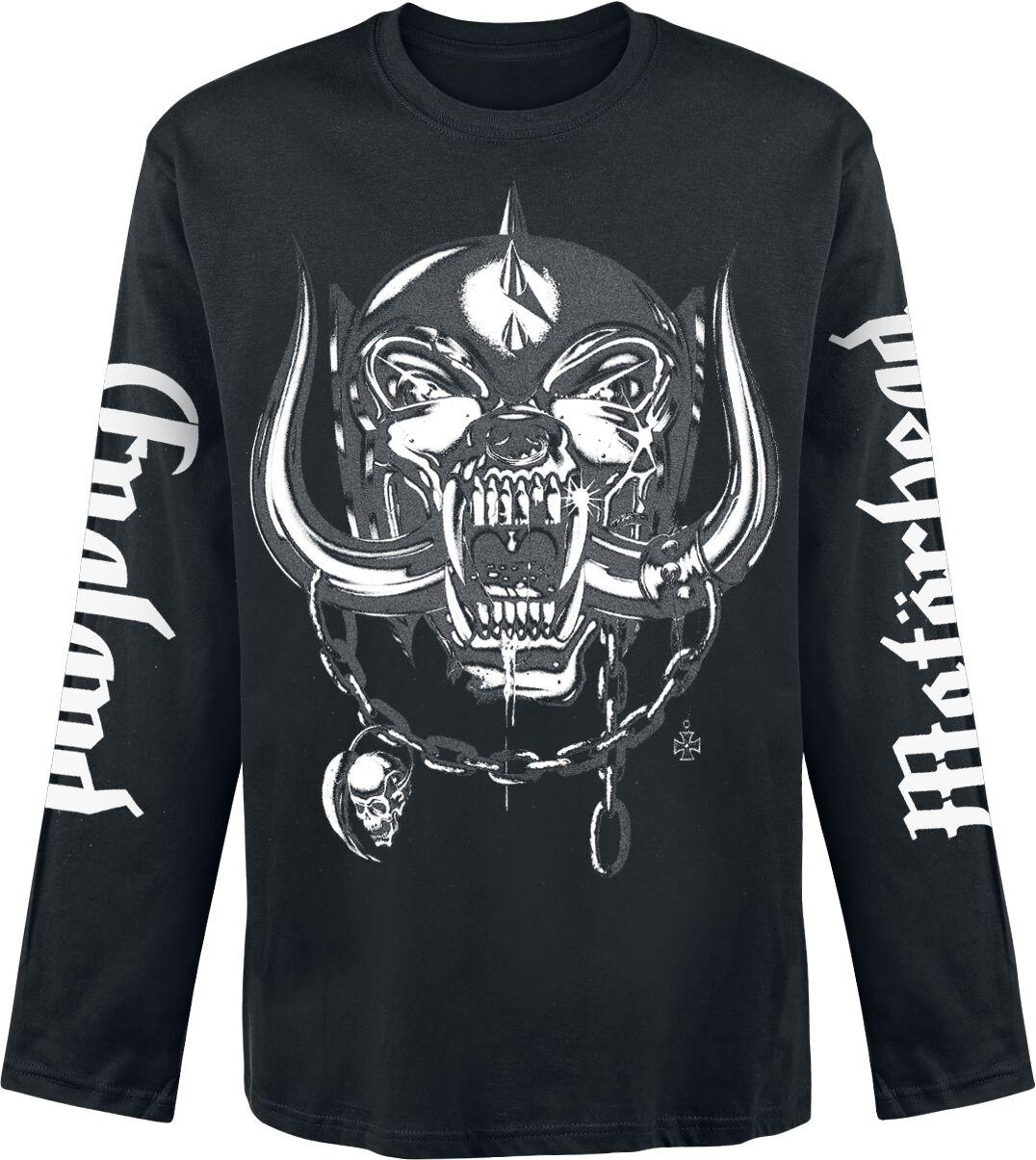 Image of   Motörhead England Langærmet sort