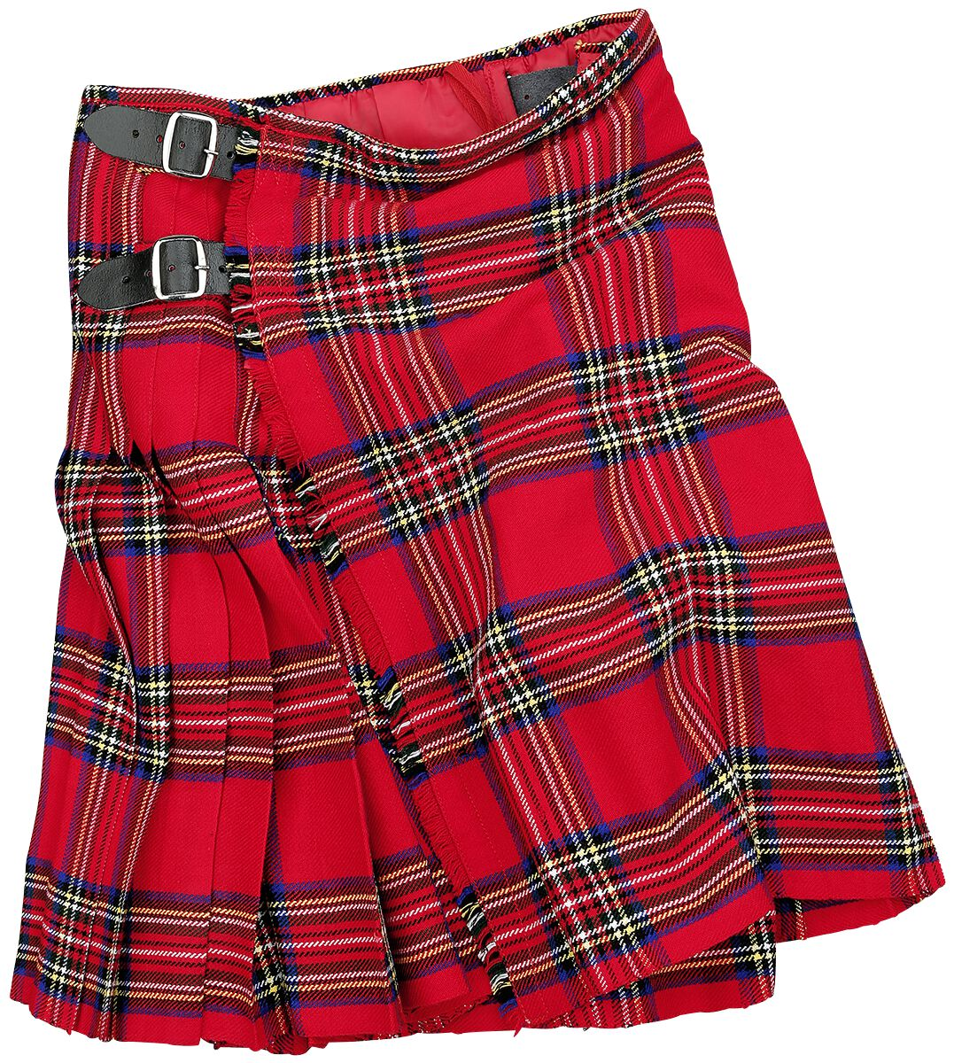 Black Premium by EMP Kilt Medium-length skirt red