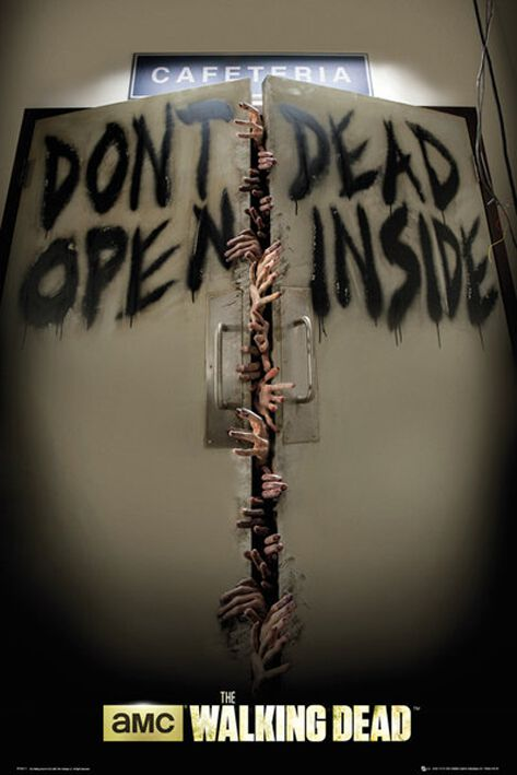 Image of   The Walking Dead Keep Out Plakat standard