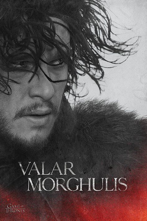 Image of   Game Of Thrones Jon Plakat Standard