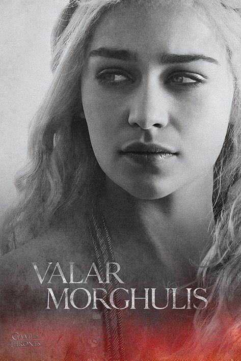 Image of   Game Of Thrones Daenerys Targaryen Plakat Standard