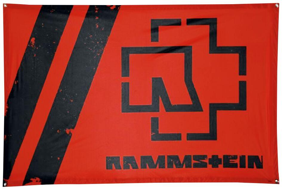 Image of   Rammstein Rammstein Rot Flag standard