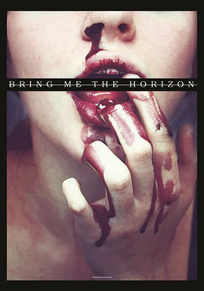 Image of   Bring Me The Horizon Bloodlust Flag multifarvet