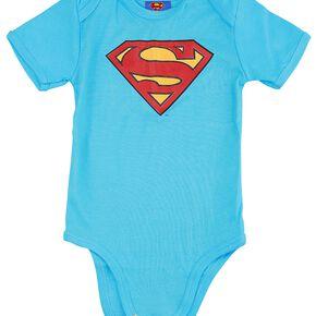 Superman Logo Body bleu
