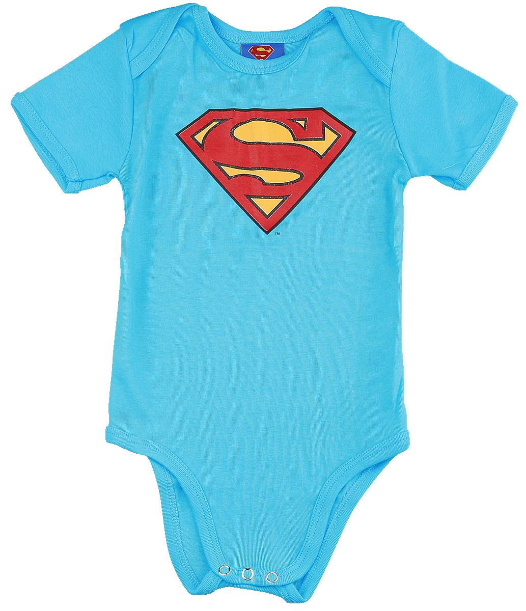 Superman - Logo - Body - blue