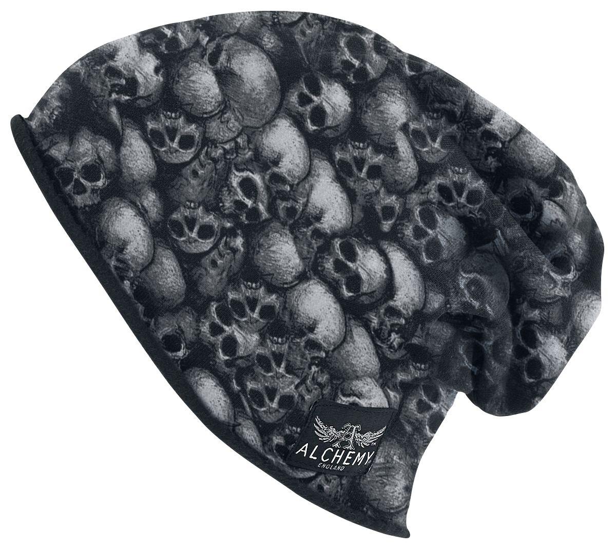 Image of   Alchemy England Skulls Beanie sort