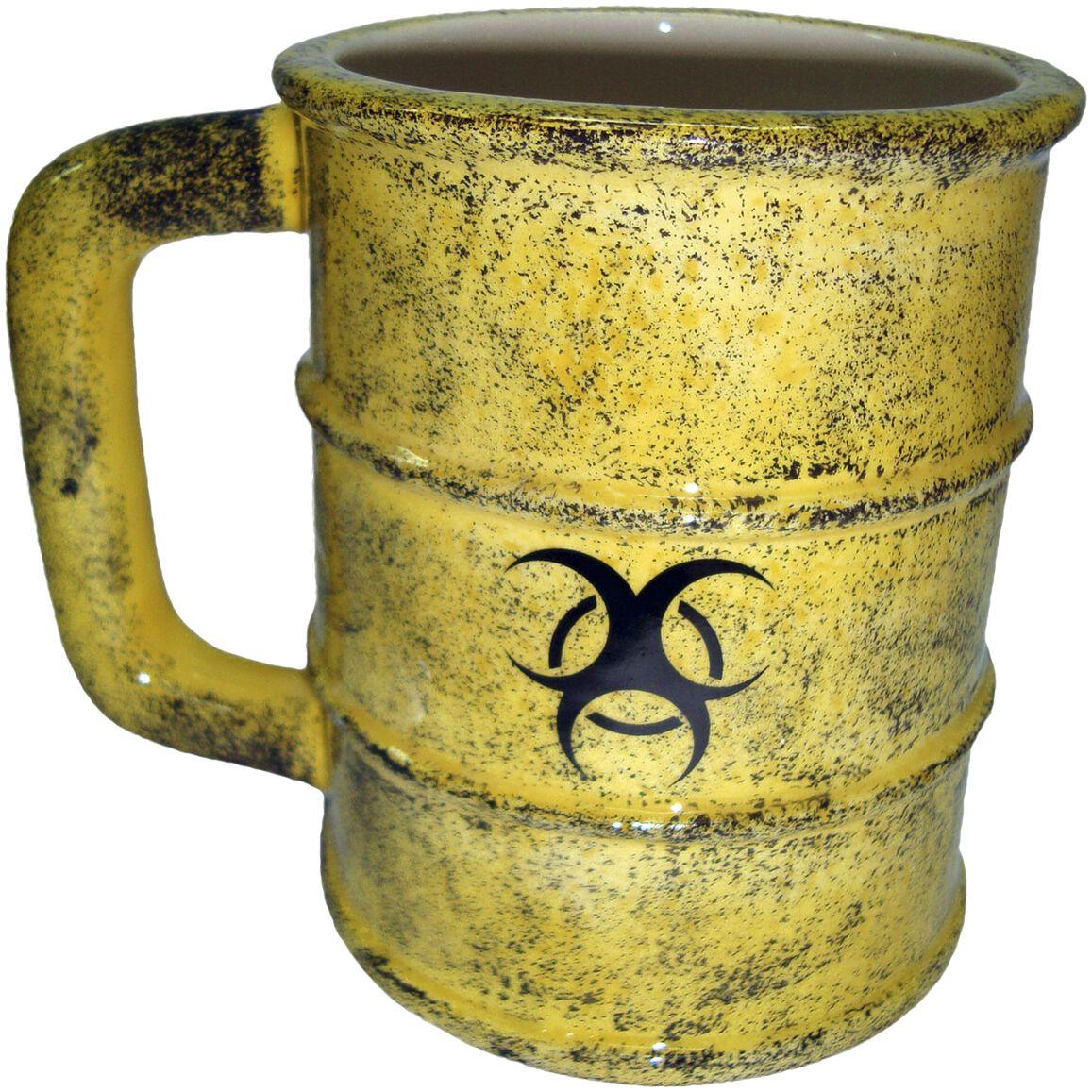Image of   Nemesis Now Toxic Waste Mug Krus gul