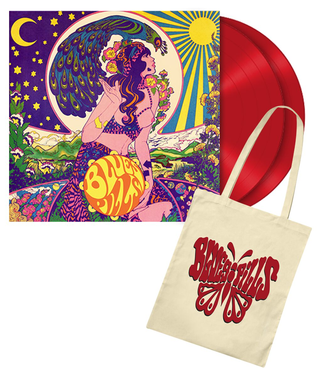 Image of Blues Pills Blues Pills 2-LP & Stofftasche rot