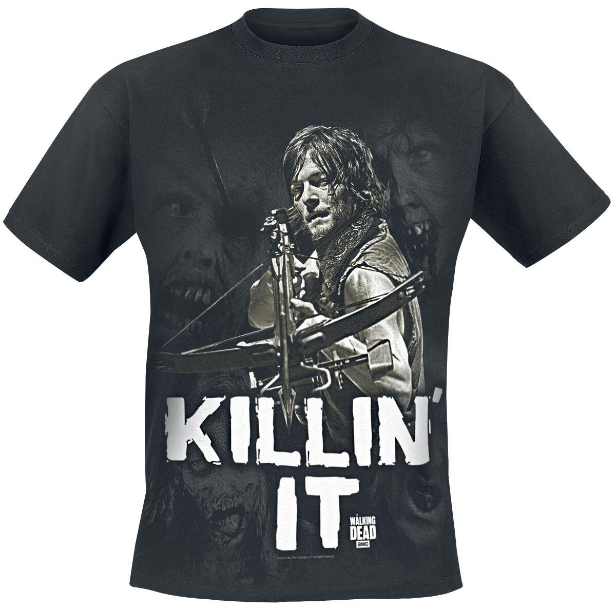 Image of   The Walking Dead Daryl Dixon - Killin' it T-Shirt sort