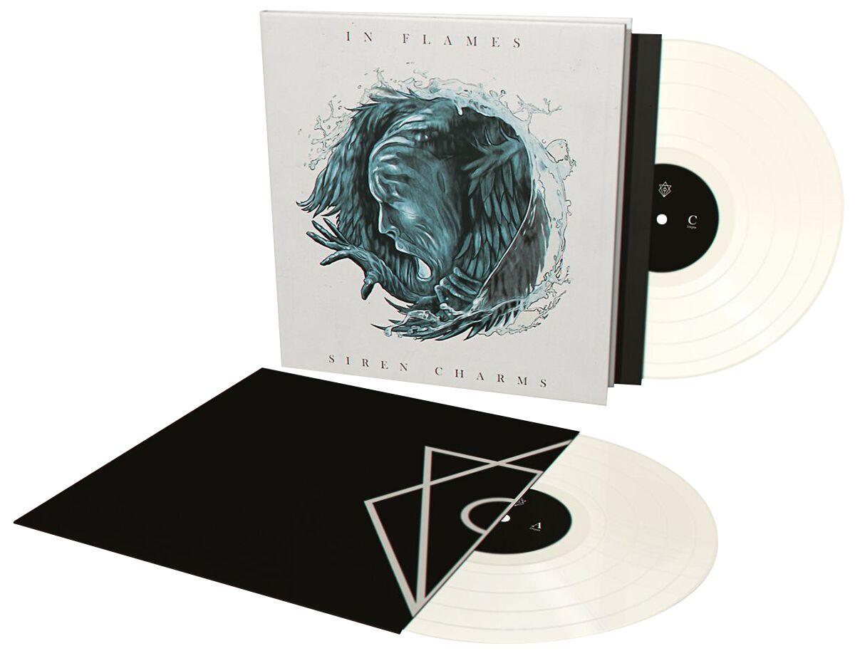 Image of   In Flames Siren charms 2-LP beige-hvid