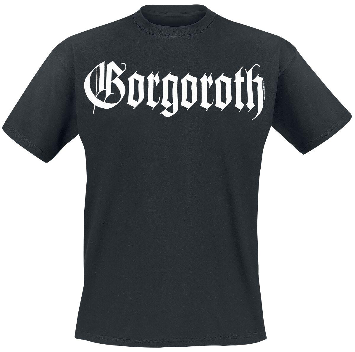 Zespoły - Koszulki - T-Shirt Gorgoroth True Black Metal T-Shirt czarny - 286888