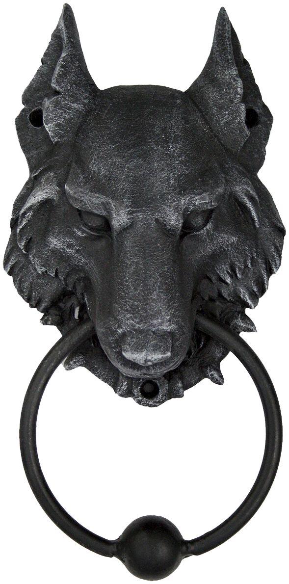 Image of   Nemesis Now Wild Wolf Door Knocker Dekorationsartikel koks