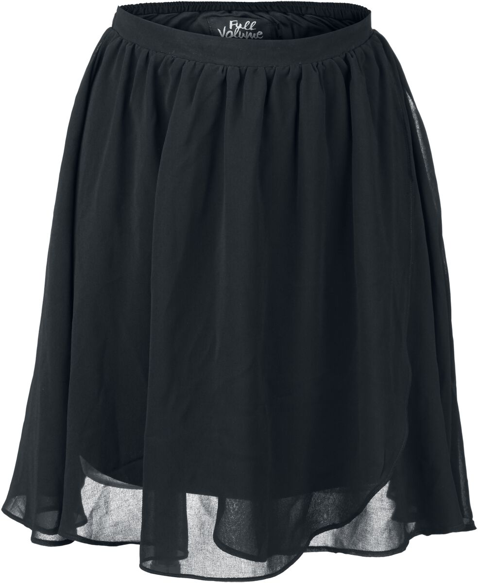 Image of   Full Volume by EMP Black Swinging Skirt Nederdel sort