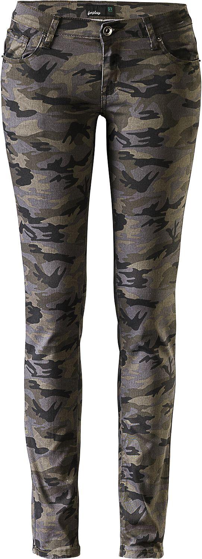 Hosen für Frauen - RED by EMP Skarlett Girl Hose camouflage  - Onlineshop EMP