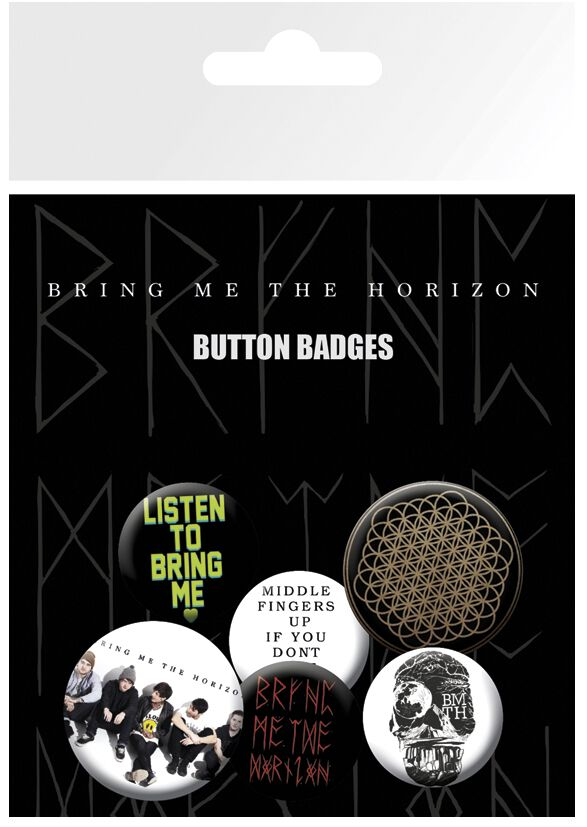 Image of   Bring Me The Horizon Sempiternal Badgepakke multifarvet