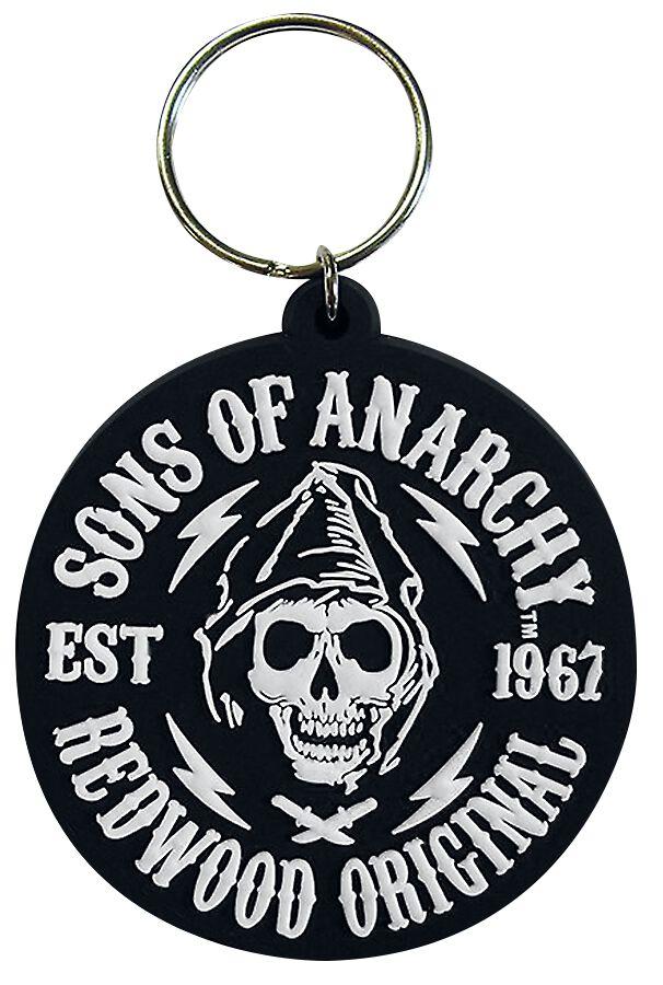 Merch dla Fanów - Breloczki do kluczy - Breloczek do kluczy Sons Of Anarchy Redwood Original Breloczek do kluczy standard - 288191
