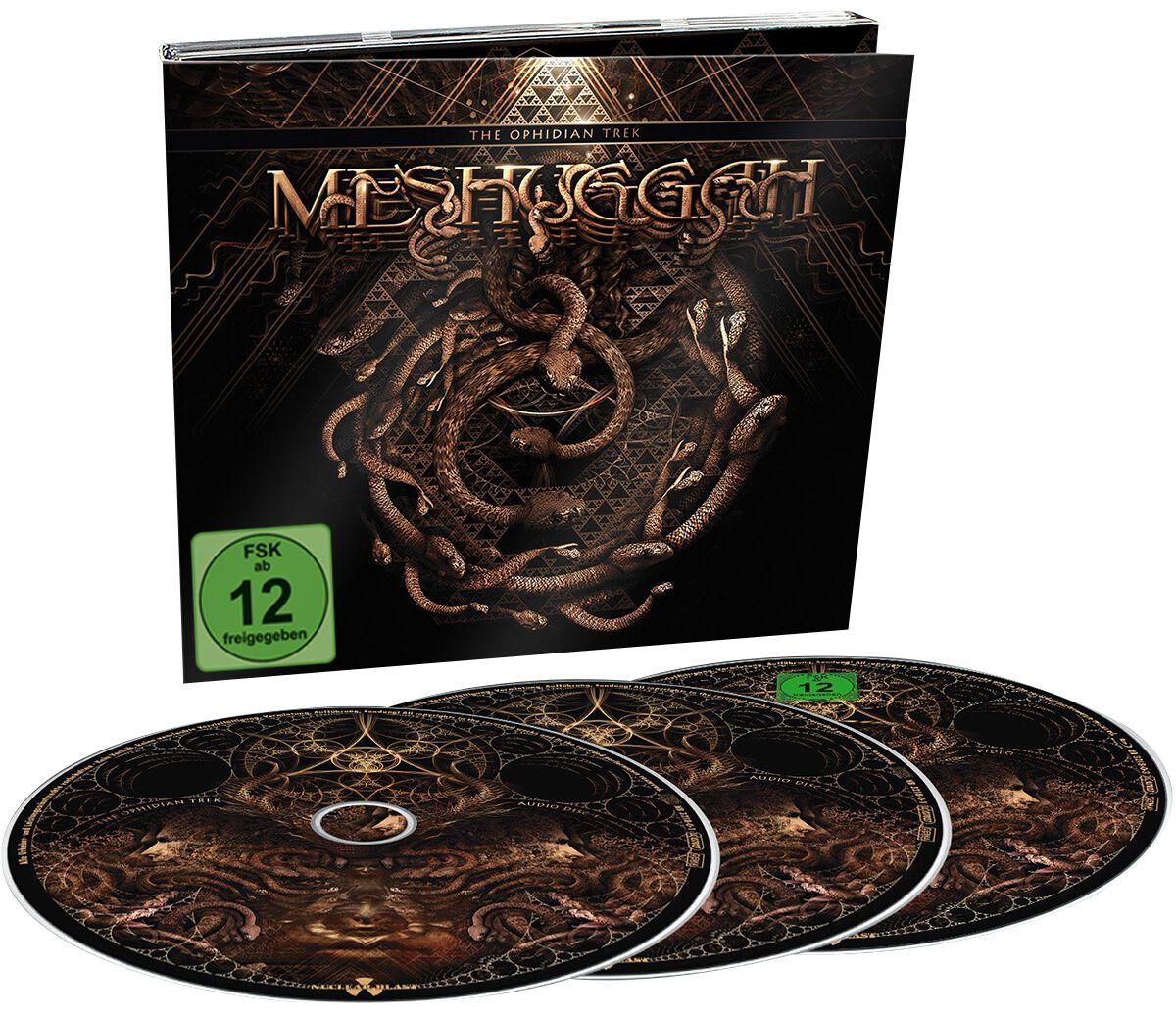 Image of Meshuggah The ophidian trek 2-CD & Blu-ray Standard